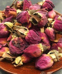 Red Persian Rosebuds
