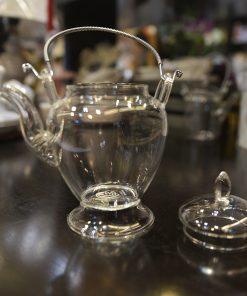 Ceainic sticlă pentru blooming tea