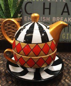 Tea for one HARLEKIN 0.3l/0.17l portelan